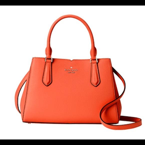 Kate Spade tippy sm triple compartment satchel